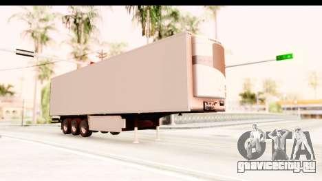 Trailer ETS2 v2 New Skin 2 для GTA San Andreas вид справа