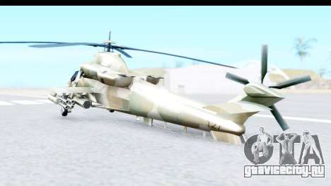 Denel AH-2 Rooivalk для GTA San Andreas вид слева