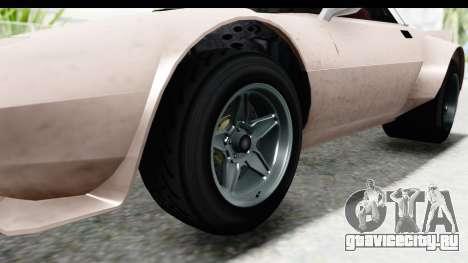 GTA 5 Lampadati Tropos SA Lights для GTA San Andreas вид сзади