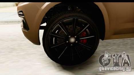 GTA 5 Benefactor XLS IVF для GTA San Andreas вид сзади