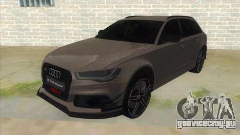 Audi RS6-R для GTA San Andreas