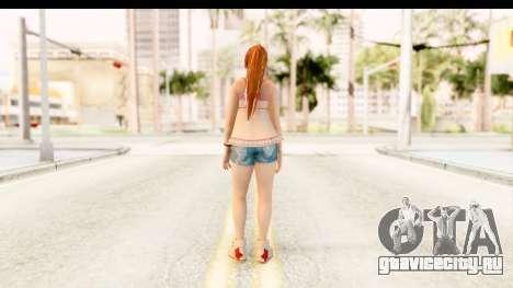 Dead Or Alive 5 - Kasumi Intimate для GTA San Andreas третий скриншот