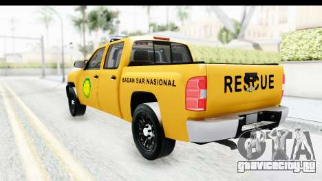 Chevrolet Silvedaro Basarnas для GTA San Andreas вид слева