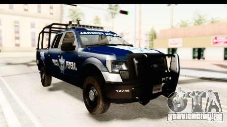 Ford F-150 Federal Police для GTA San Andreas
