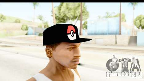 Cap Pokemon Pokeball для GTA San Andreas