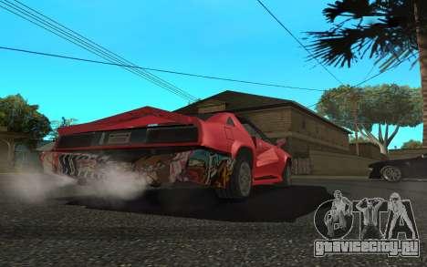 Buffalo (Tunning) для GTA San Andreas вид справа