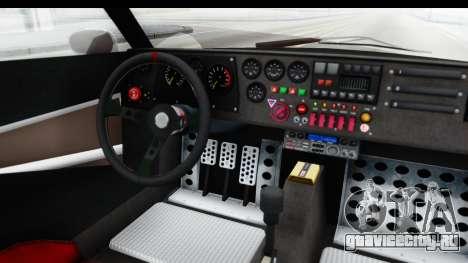 GTA 5 Lampadati Tropos SA Lights для GTA San Andreas вид изнутри