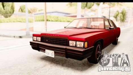 GTA 5 Albany Emperor IVF для GTA San Andreas