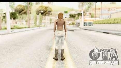 Helena Casual Skin для GTA San Andreas третий скриншот