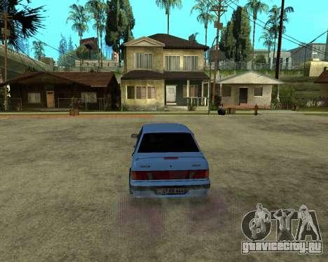 VAZ 21015 ARMENIAN для GTA San Andreas вид сзади