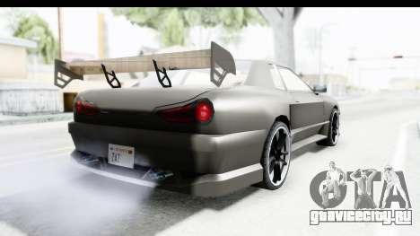 Elegy Sport Type v1 для GTA San Andreas вид справа