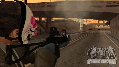 АС-ВАЛ Payday 2 для GTA San Andreas третий скриншот