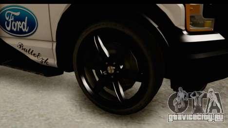 Ford F-150 Tuning для GTA San Andreas вид сзади