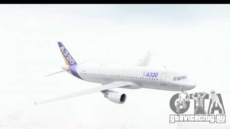 Airbus A320-200 Industrie MSN 1 1987 First Fligh для GTA San Andreas