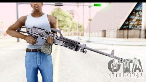 M240 FSK No Attachments для GTA San Andreas третий скриншот