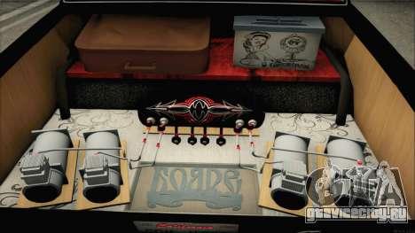 ГАЗ 24 Бояре для GTA San Andreas вид изнутри