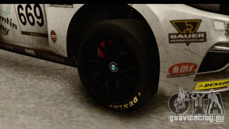 BMW M235i Coupe для GTA San Andreas вид сзади