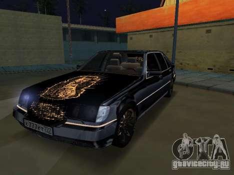 Mersedes-Benz W140 600SEL для GTA San Andreas