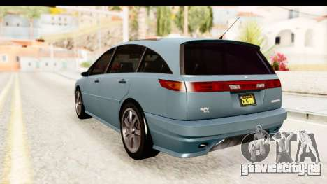 GTA 5 (4) Dinka Perennial IVF для GTA San Andreas вид слева