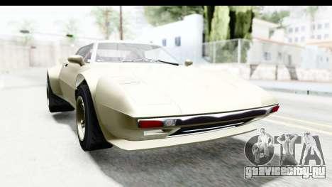 GTA 5 Lampadati Tropos Rallye IVF для GTA San Andreas вид сзади слева