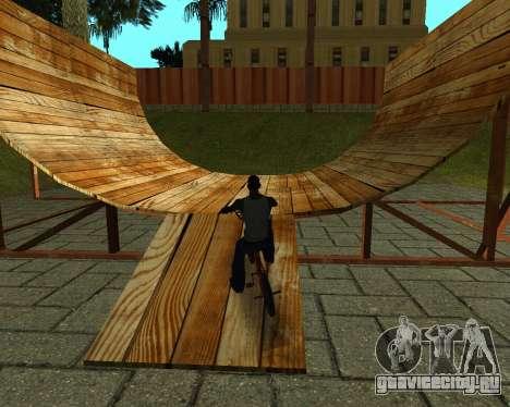 New HD Glen Park для GTA San Andreas девятый скриншот
