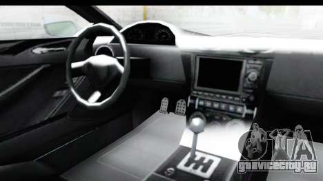 GTA 5 Dewbauchee Seven 70 with Mip Map для GTA San Andreas вид изнутри