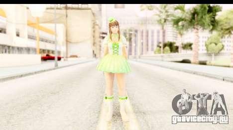 Dead Or Alive 5 - Hitomi Pop Idol для GTA San Andreas второй скриншот