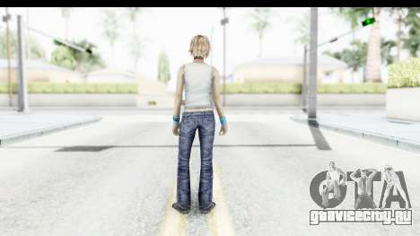 Silent Hill 3 - Heather Sporty White Delicious для GTA San Andreas третий скриншот
