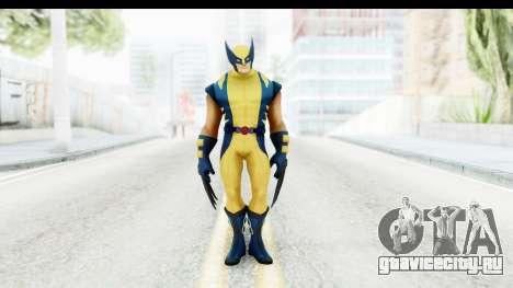 Marvel Heroes - Wolverine Modern для GTA San Andreas второй скриншот