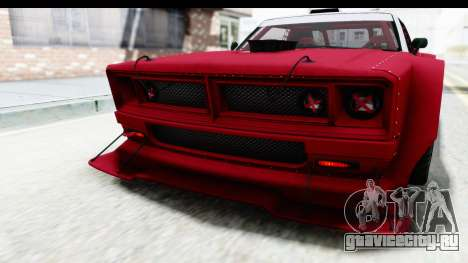 GTA 5 Declasse Drift Tampa IVF для GTA San Andreas салон