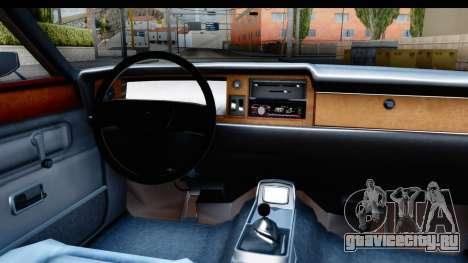 Ford Taunus Coupe для GTA San Andreas вид изнутри