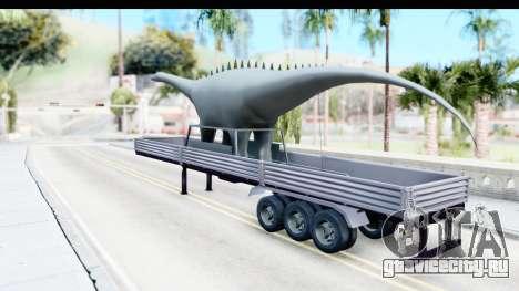Trailer Brasil v7 для GTA San Andreas вид сзади слева