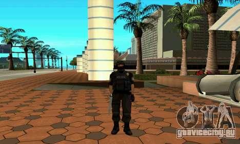 NextGen изменённого оригинального скина SWAT для GTA San Andreas пятый скриншот