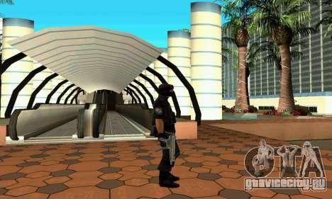 NextGen изменённого оригинального скина SWAT для GTA San Andreas четвёртый скриншот