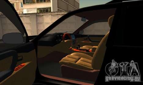 Toyota Land Cruiser 100 для GTA San Andreas вид сзади