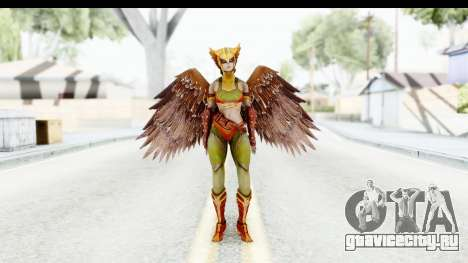 Injustice God Among Us - Hawk Girl для GTA San Andreas второй скриншот