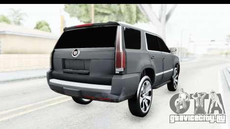 Cadillac Escalade 2016 для GTA San Andreas вид справа