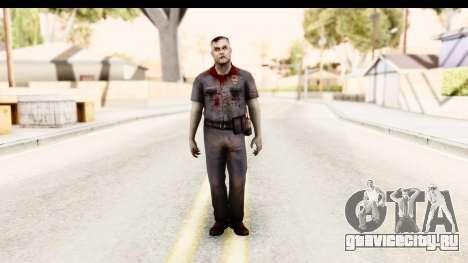 Left 4 Dead 2 - Zombie Policeman для GTA San Andreas второй скриншот
