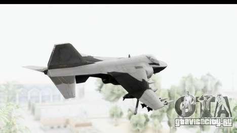 MGSV Phantom Pain Hydra v2 для GTA San Andreas вид справа
