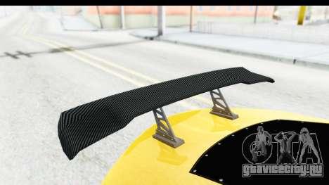 GTA 5 Emperor ETR1 v2 SA Lights для GTA San Andreas вид сбоку