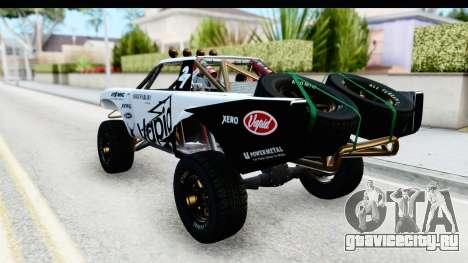 GTA 5 Trophy Truck IVF PJ для GTA San Andreas салон