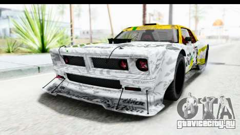 GTA 5 Declasse Drift Tampa для GTA San Andreas вид изнутри