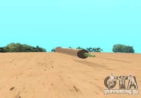 Шприц для GTA San Andreas вид слева