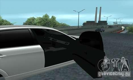 BMW 325i E90 для GTA San Andreas вид справа