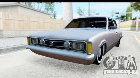 Ford Taunus Coupe для GTA San Andreas вид справа