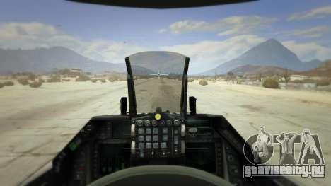F-16XL USA для GTA 5 пятый скриншот