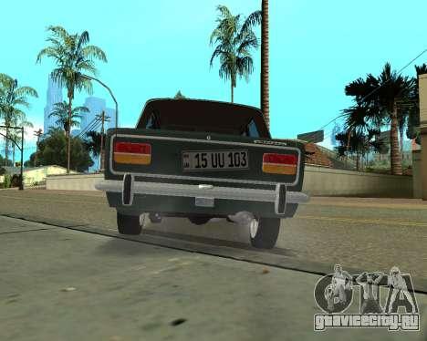 ВАЗ 2103 Armenian для GTA San Andreas вид сзади