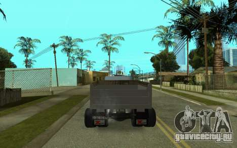 ЗиЛ-130 Армения для GTA San Andreas вид сзади слева