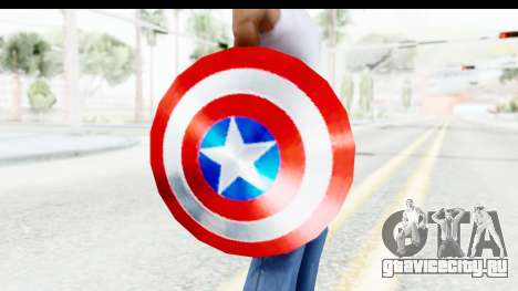 Capitan America Shield Classic для GTA San Andreas третий скриншот