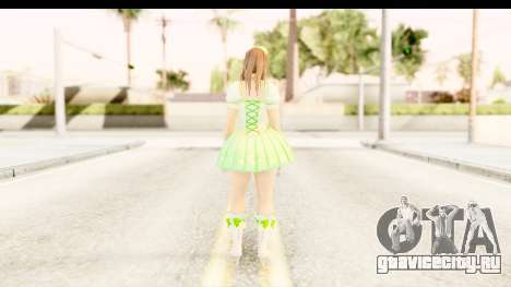 Dead Or Alive 5 - Hitomi Pop Idol для GTA San Andreas третий скриншот